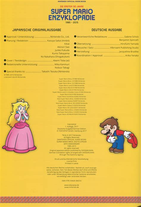 Super Mario Bros. Encyclopedia   Super Mario Wiki, the