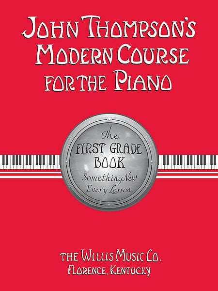 Buku Piano Piano Adventures Lesson Book Level 1 thompson s modern course for the piano the