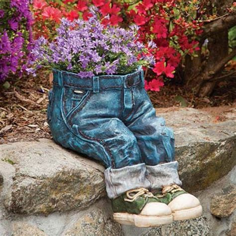 How To Make Planter by Visitors With These Blue Jean Planters Home And