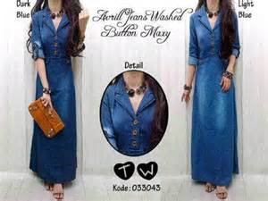 Kirana Maxy Dress baju avrill washed button maxy dress 033043