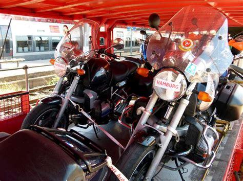 Motorrad Einfahren Wie Lange by Volker Westphal Motorrad Im Autozug
