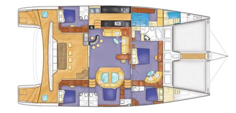 interior layout images matrix yachts catamarans boats and yachts