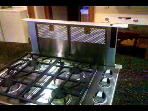 downdraft ventilation cooktop bosch telescoping downdraft vent