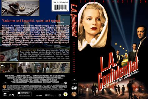 L Covers by L A Confidential Dvd Custom Covers L A Confidential 1997 Custom F Dvd