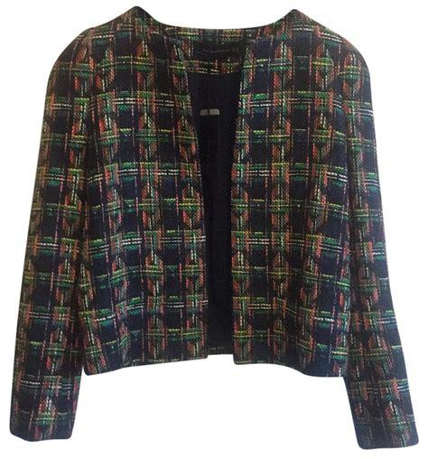 Zara Backpack Tweed zara multi color woven tweed boucle blazer xs size 0 xs tradesy