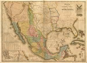 and the mexican war map map of the mexican war