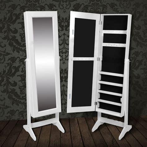 vide armoire en ligne la boutique en ligne armoire 224 bijoux rangement miroir meuble chambre blanc vidaxl fr