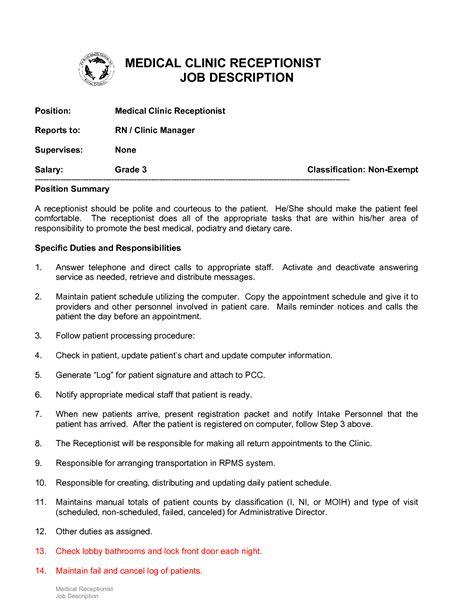 barber job description resume examples for receptionist jobs hair