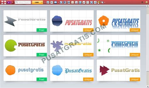 tempat membuat logo online gratis logotype creator web aplikasi untuk merancang logo unik