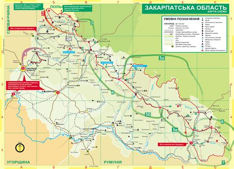 hiking maps transcarpathia hiking trail map mappery