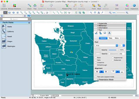 os maps usa usa maps solution conceptdraw