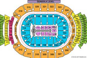 air canada center floor plan acc seating map
