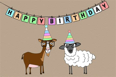 happiest hipster items similar to animal farm hipster happy birthday