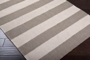 gray and ivory striped rug style rugs by rugs