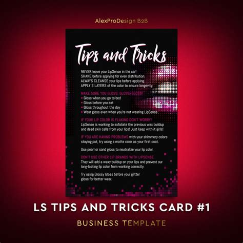 card techniques and tips lipsense tips and tricks card lipsense application card