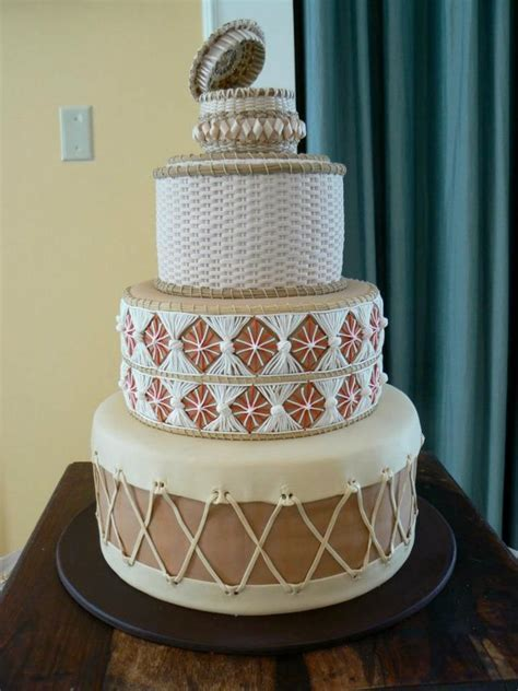 Native American Inspired Drums Wedding Cake Keywords: #