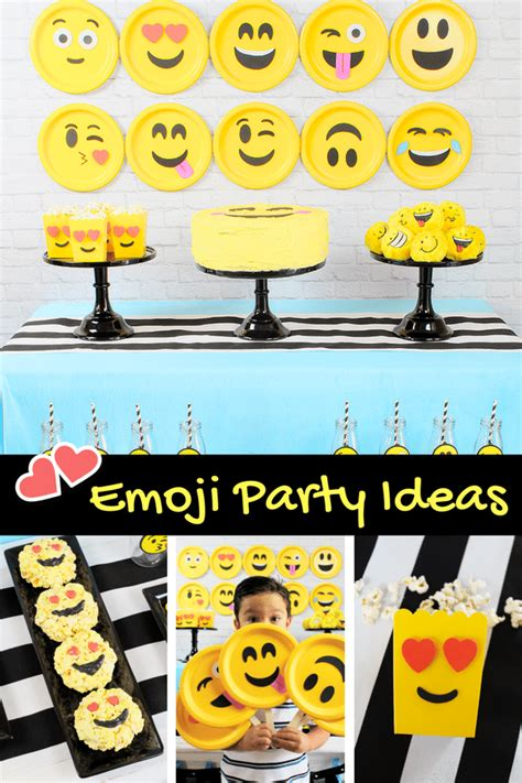 Diy Projects For Teens emoji party ideas michelle s party plan it