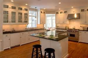 Adding Cabinets Above Kitchen Cabinets by Kitchen Dark Counters Light Floors For Home Renos