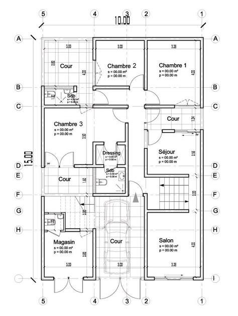 Echelle Plan Maison by Echelle Plans