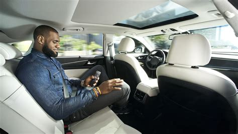 self driving car intel taps lebron james for self driving car ad caign