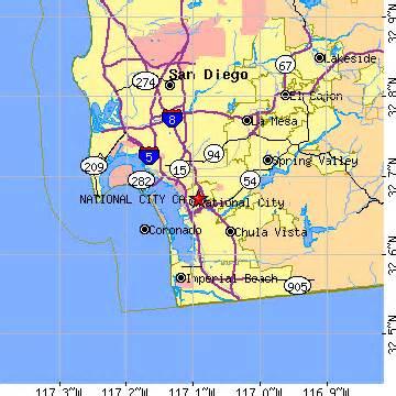 national city california ca population data races