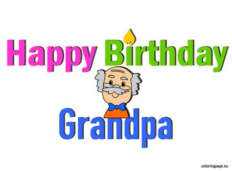 printable birthday cards for grandpa happy birthday grandpa birthday pinterest happy