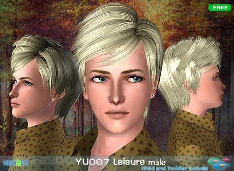 hair cut with no middle path yu 007 leisure hairstyle with volume and the middle path