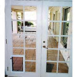 Patio Door With Pet Door Built In Pet Doors For French Doors And Glass Petdoors Com