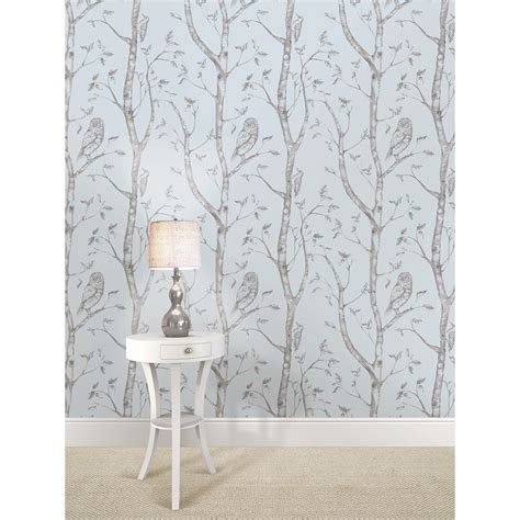 peel and stick wallpaper reviews wallpops blue woods peel and stick wallpaper reviews