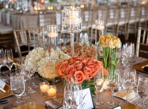 table arrangements for wedding reception wedding reception table arrangements archives weddings