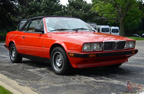 1987 Maserati Biturbo by Service Manual 1987 Maserati Biturbo Service Manual
