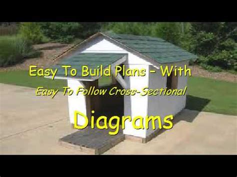 how to build a dog house easy and cheap how to build a dog house easy youtube