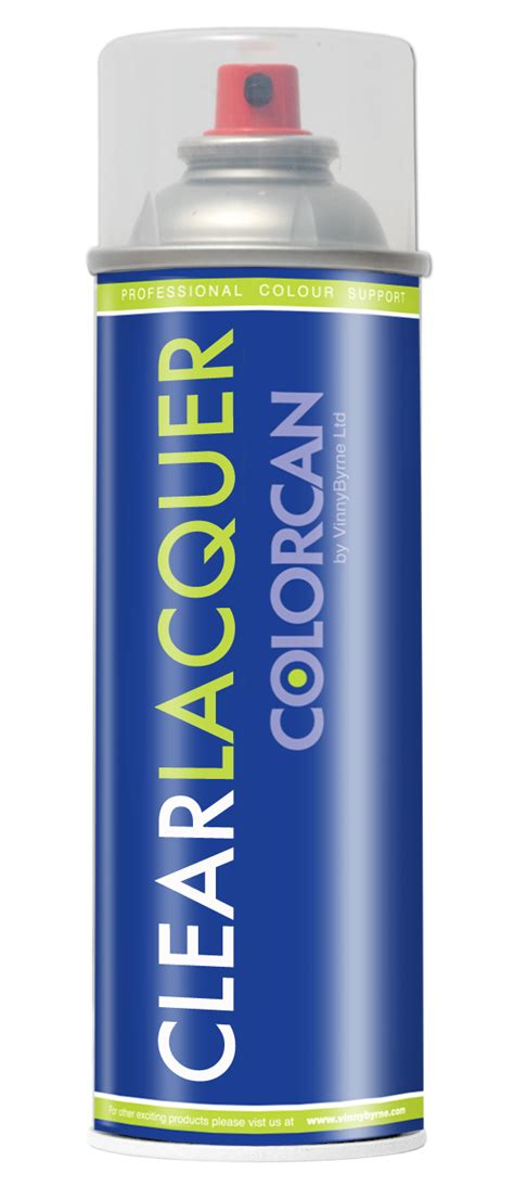 Colorcan Aerosol Spray Clear Lacquer 500ml Vinnybyrne Com