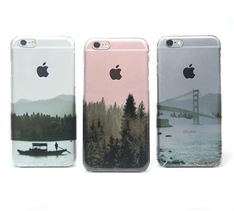 Casing Hp Cover Iphone 5 5s 6 6s 6 Plus 6s Plus Leather Metal new york city skyline hudson river nyc iphone 6s clear