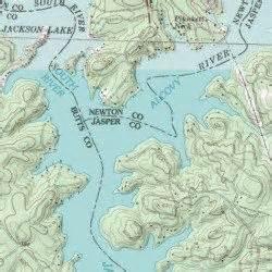 jackson lake lloyd shoals dam usgs topographic