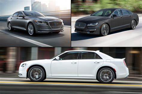 Discount Luxury by Cheap Luxury 10 Premium Sedans 40 000 Motor Trend