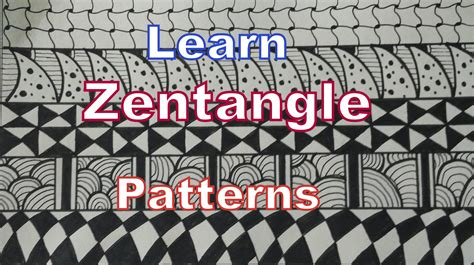 how to draw doodle for beginner how to draw easy zentangle patterns for beginners