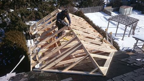 Add Gable To Roof Framing