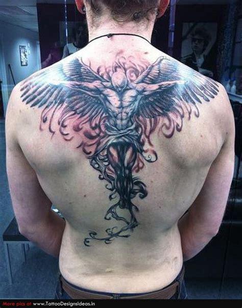 个性十足的满背天使纹身第4页