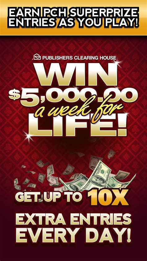 Publishers Clearing House Casino Games - pch cash casino play free slot machines bingo and poker games for chances to win