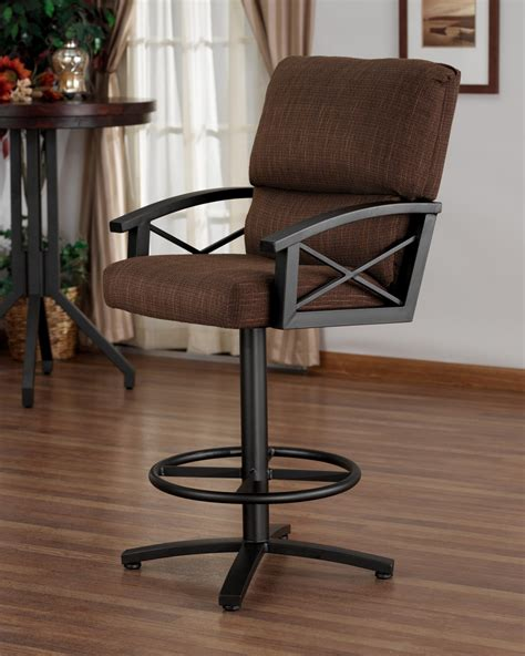 bar stools counter height with arms leather counter height bar stools with arms stylish