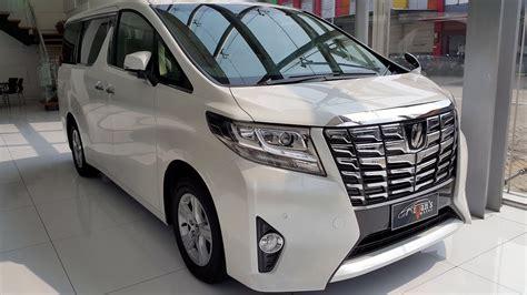 2016 Toyota Alphard 2 5 X A T toyota alphard x 2015 2 5