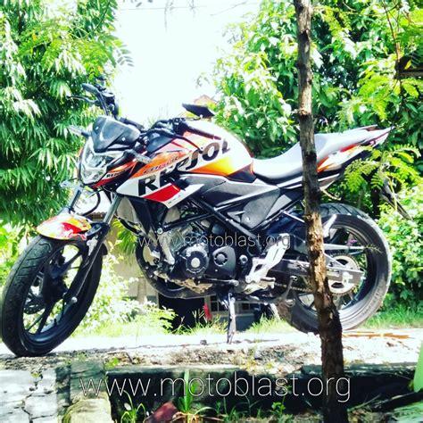 Striping Honda New Megapro V1 honda new cb150r modif striping livery repsol edition memang ganteng maksimal motoblast