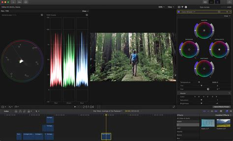color grading software fcpx 10 4 s color grading tools are a changer