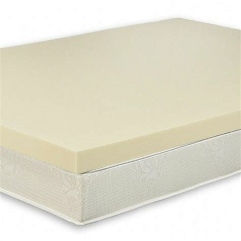 Foam Mattress Pad by 3 Quot Size High Density 4 0 Memory Foam Bed Topper