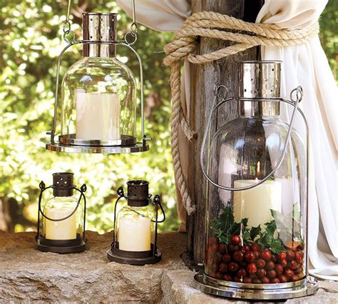 Outdoor Candles Lanterns And Lighting Candles In The Garden Lighting Creative Ideas For Every Home Interior Design Ideas And