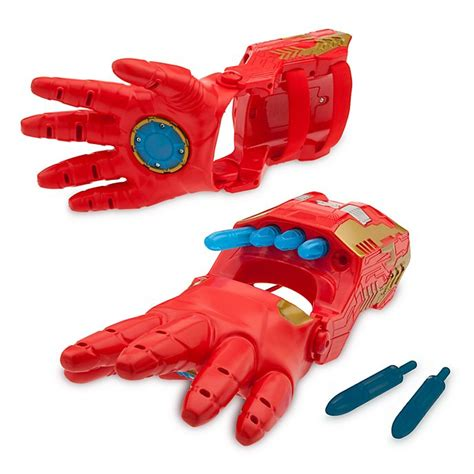 disney store iron man repulsor gloves avengers endgame