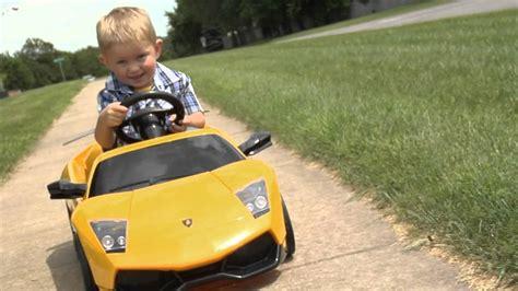 Lamborghini Kid Car by Kalee Lamborghini Kid Car
