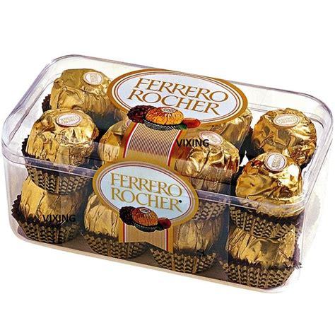 Ferrero Rocher 16 box of 16 ferrero rocher chocolates truffles ferrero