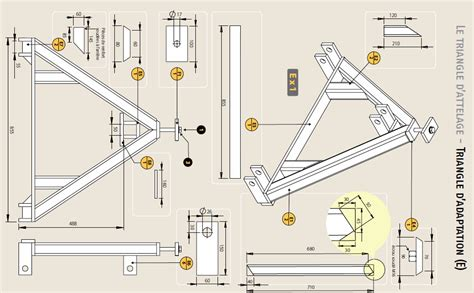 3 point hitch dimensions diagram triangle tractor side construction diagram